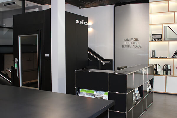 Schueco UK Platform Lift Installation