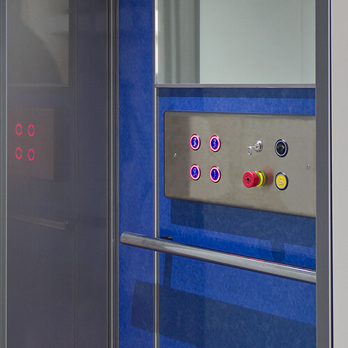 Customise your Luxury platform lift in an array of colours to suit your interior décor