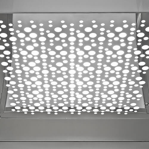 Customisable LED Lighting for your home lift