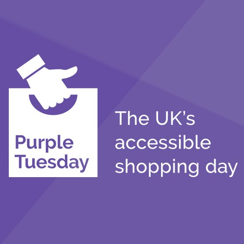 Purple Tuesday - The UK's accessible shopping day